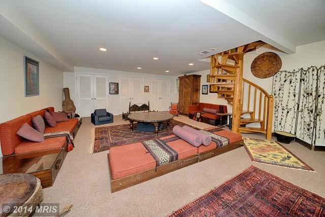 Rec Room in Basement -