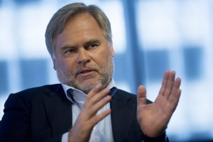 Eugene Kaspersky, chairman, chief executive officer and founder of Kaspersky Lab, speaks during an interview in Washington, D.C., U.S., on Thursday, March 12, 2015. Kaspersky Lab, whose founder used to woork for the KGB, sells security software, including anti-virus programs recommended by big-box stores and other U.S. PC retailers. Photographer: Andrew Harrer/Bloomberg via Getty Images