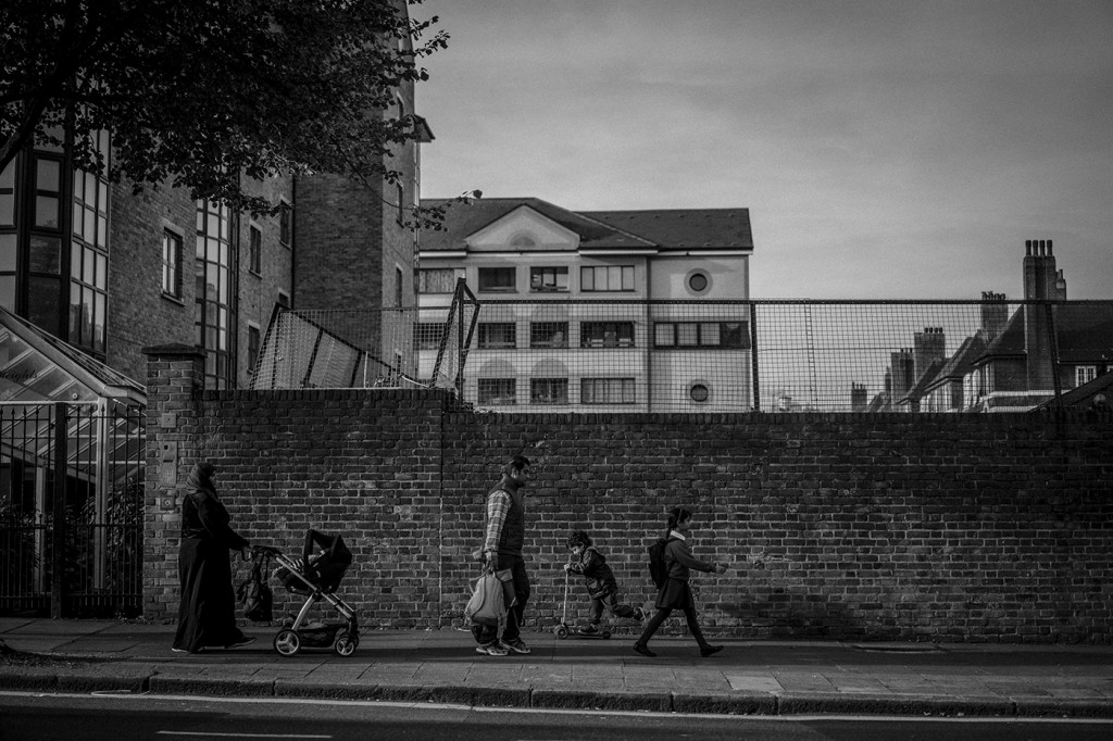 UK. London. 29th  September 2015 Lisson Grove Andrew Testa for the Intercept