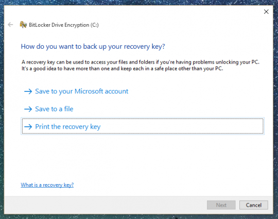 MICROSOFT PROBABLY HAS YOUR ENCRYPTION KEY Windows-encryption-step4-540x427