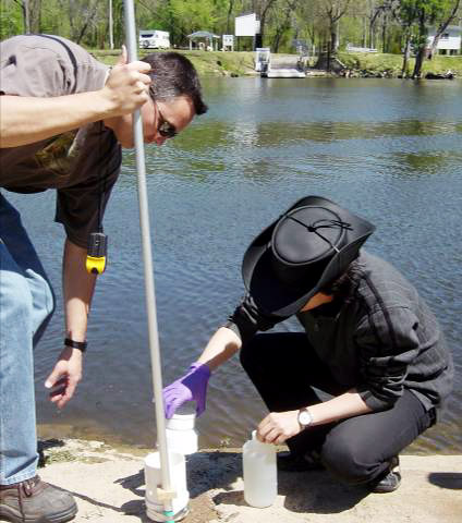 collecting-water-samples