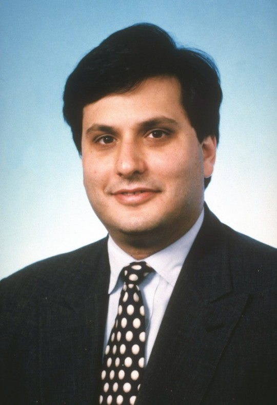DISTRICT OF COLUMBIA, UNITED STATES - OCTOBER 1994:  Ronald A. Klain, chief of staff to Attorney General Janet Reno (no further caps).  (Photo by Department Of Justice/Department Of Justice/The LIFE Picture Collection/Getty Images)