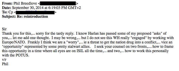 PB2C09392014 Hacked Emails Confirm NATO Push To Provoke, Escalate Conflict With Russia