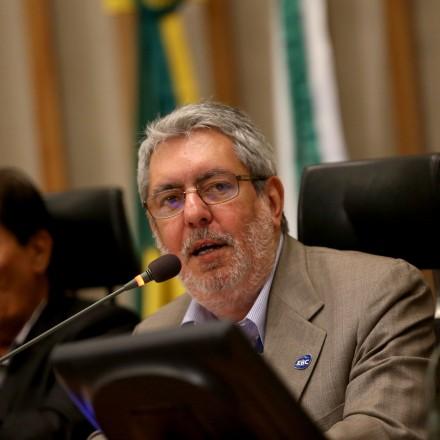 Brasília - Ricardo Melo, o presidente da EBC participa de sessão solene em homenagem aos 40 anos da Rádio Nacional FM (Wilson Dias/Agência Brasil)