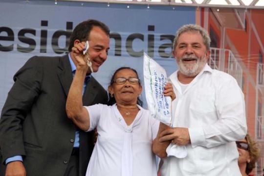 Inauguração PAC Manguinhos
