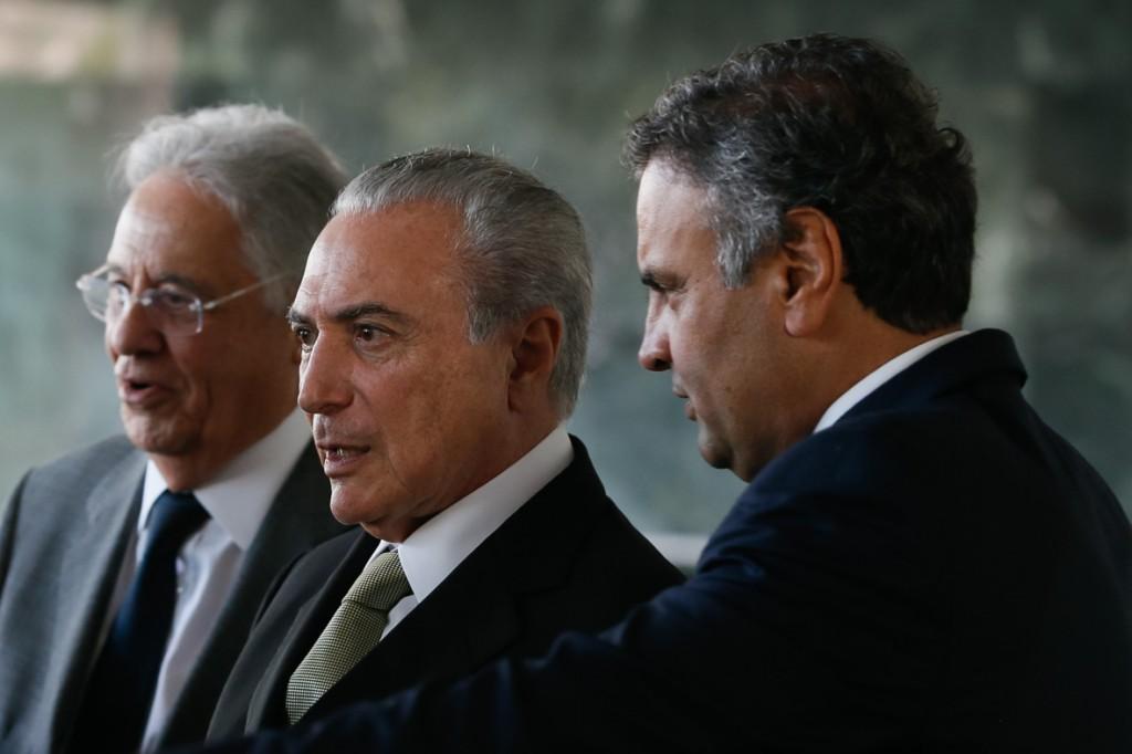 (Brasília - DF 25/11/2016) Presidente Michel Temer recebe lideranças do PSDB para almoço no Palácio da Alvorada.<br /><br /><br /><br /><br /><br /><br /><br /><br /> Foto: Beto Barata/PR