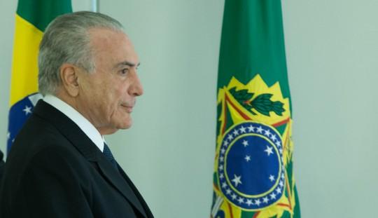 Brasília- DF 23-11-2016 Presidente, Temer durante Cerimônia de posse do ministro da Cultura, Deputado<br /><br /><br /><br /><br /><br /><br /><br /> Roberto Freire<br /><br /><br /><br /><br /><br /><br /><br /> Palácio do PlanaltoFoto Lula Marques/AGPT