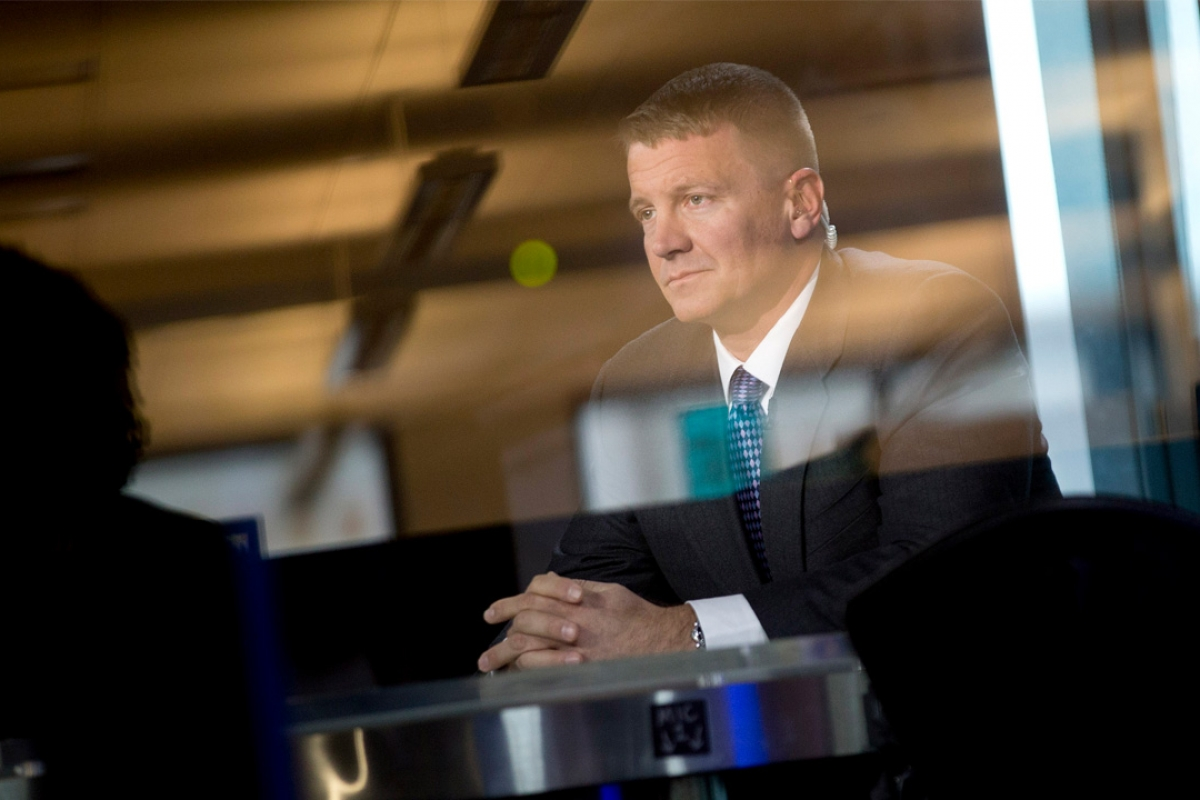 Image result for Notorious Mercenary Erik Prince Is Advising Trump From the Shadows