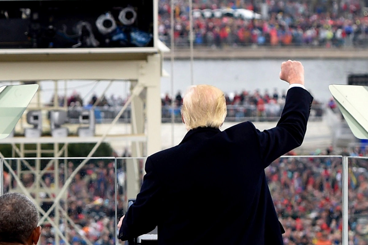 Donald Trump Preaches Angry Nationalism, While Practicing Goldman Sachs Capitalism