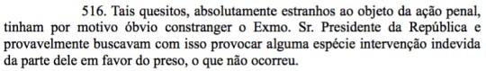 Trecho de sentença de condenação de Eduardo Cunha