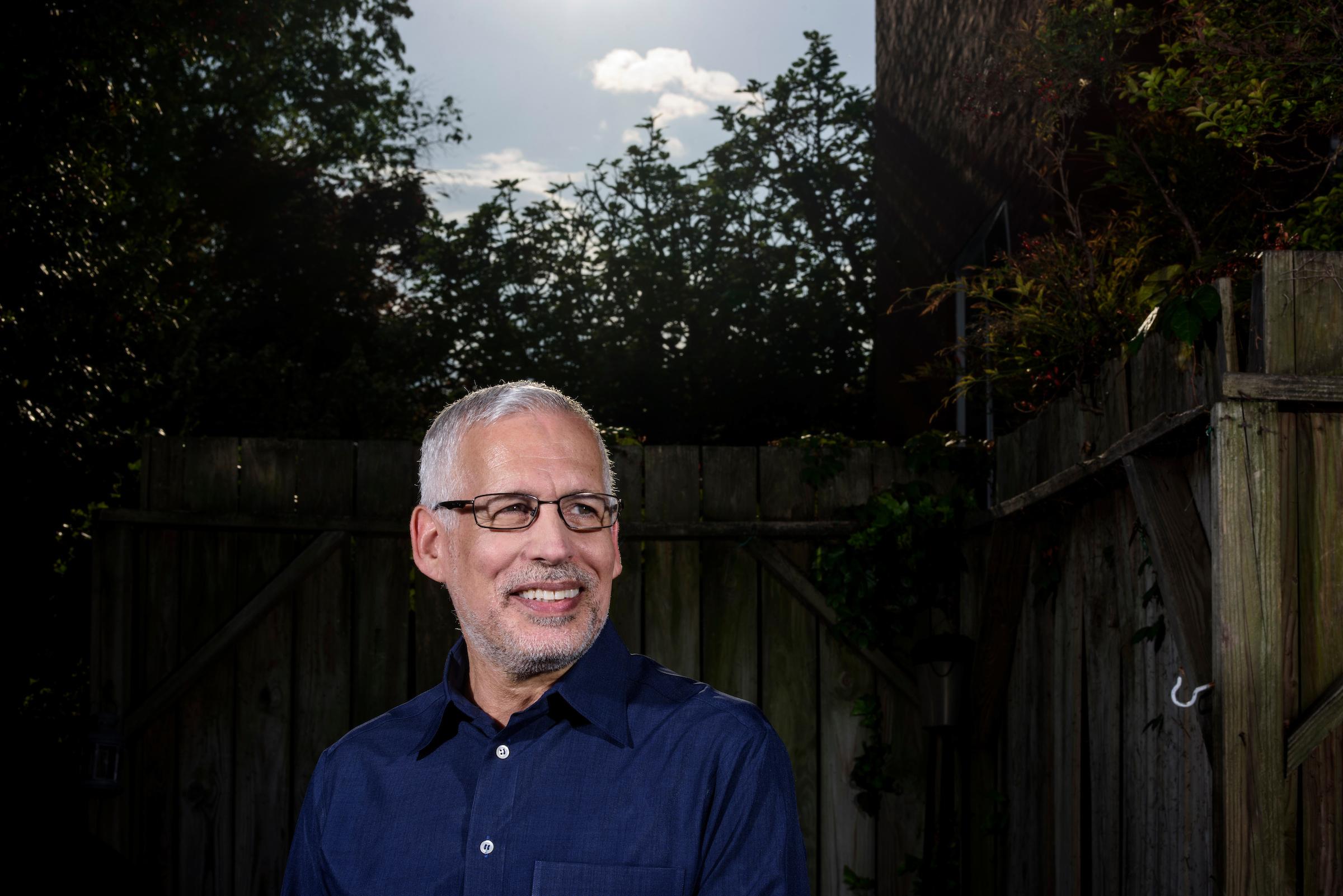 Washington, D.C. - April 21, 2017: David Guggenheim is a Marine Scientist, president and founder of Washington D.C. non-profit Ocean Doctor. CREDIT: Matt Roth
