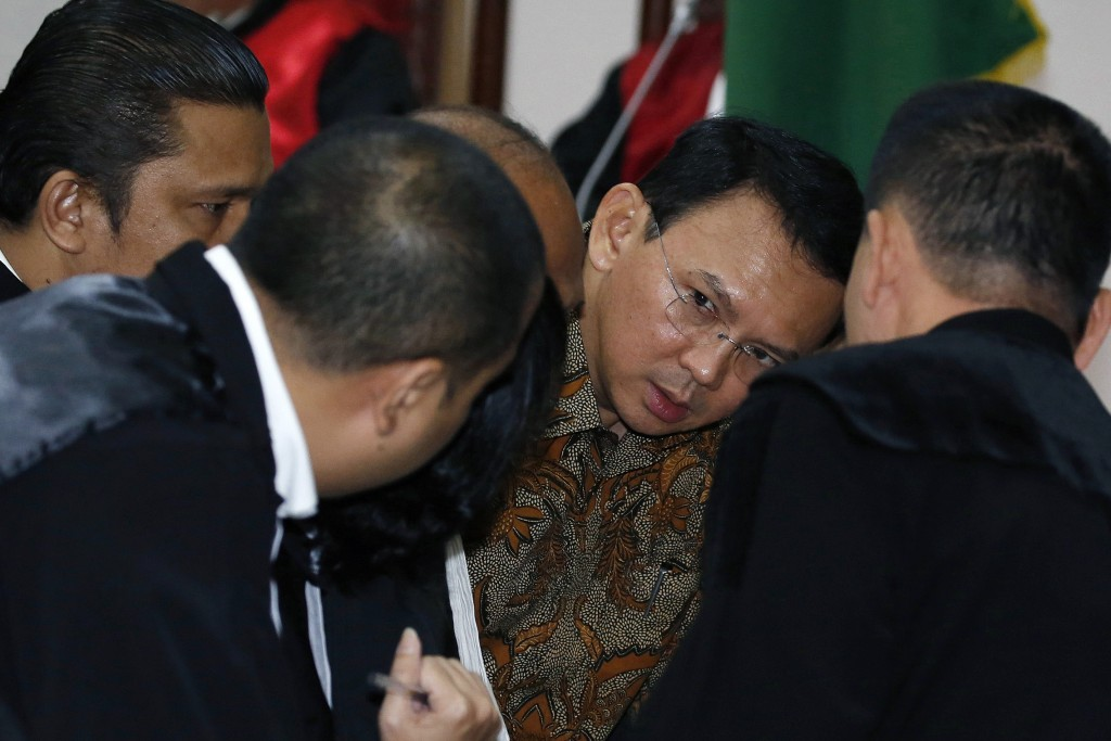 Jakarta's Governor Basuki Tjahaja Purnama, also known as Ahok s