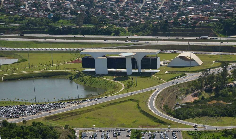 Fotos Aerea da Cidade Administrativa.Credito: Renato Cobucci/Imprensa-MG.Local:MG-Belo Horizonte.Data:13-011-2013.