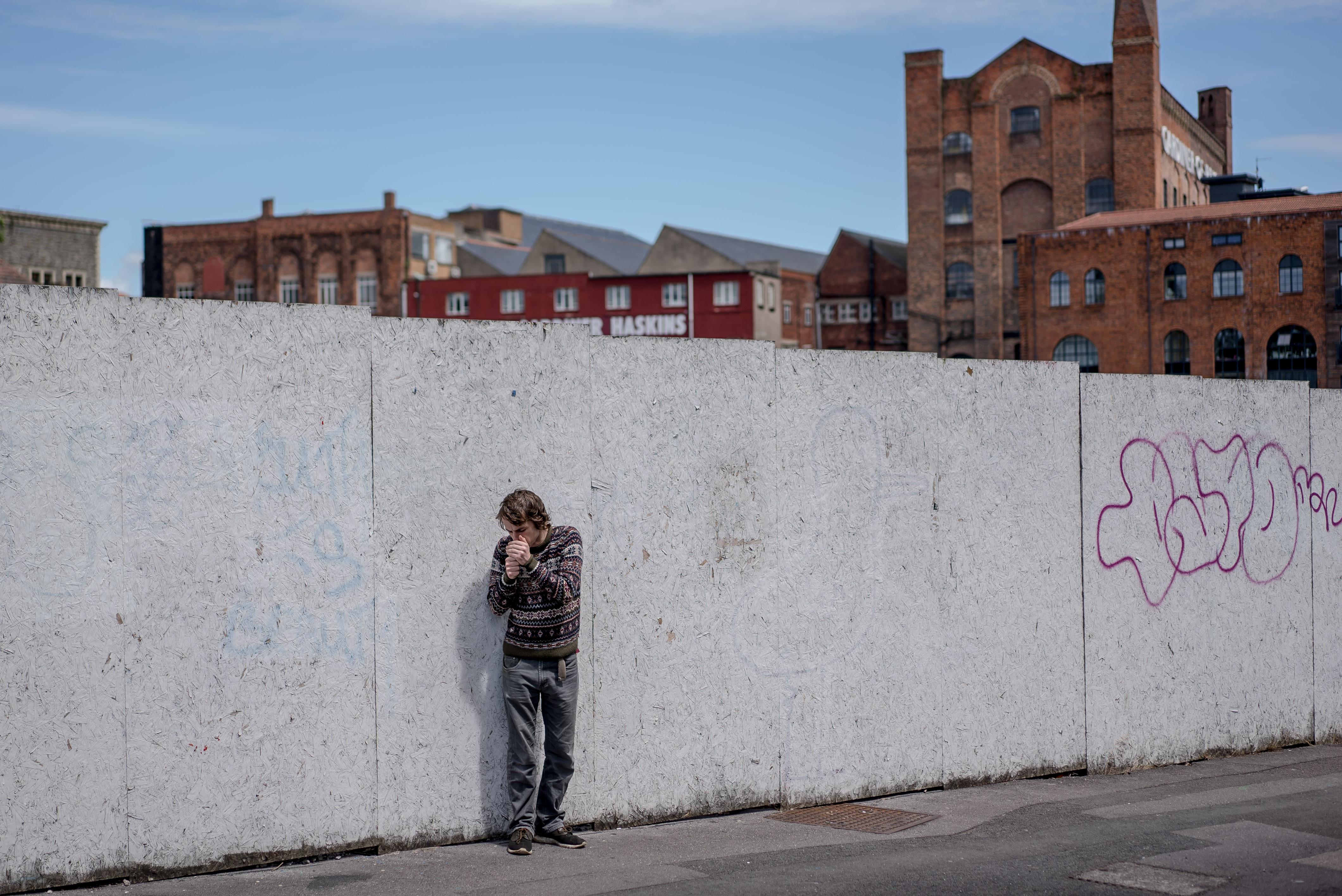 UK. Bristol. 7th June 2017Josh Walker photographed in BristolAndrew Testa for the Intercept