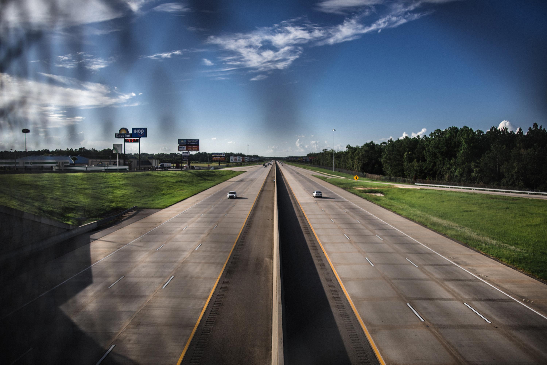 The I-75 in Adel, GA.
