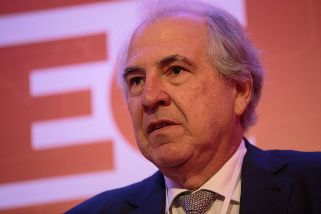 Rubens Menin, chairman and chief executive officer of MRV Engenharia e Participacoes SA, speaks during the 2017 Exame Chief Executive Office (CEO) event in Sao Paulo, Brazil, on Tuesday, Aug. 8, 2017. Executives from companies based in Brazil meet to discuss strategies to succeed in today's Brazilian economy. Photographer: Patricia Monteiro/Bloomberg via Getty Images