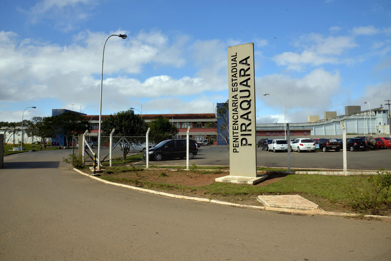 Fachada da Penitenciaria Estadual de Piraquara.Piraquara,17/09/2014. Foto - Antonio Costa