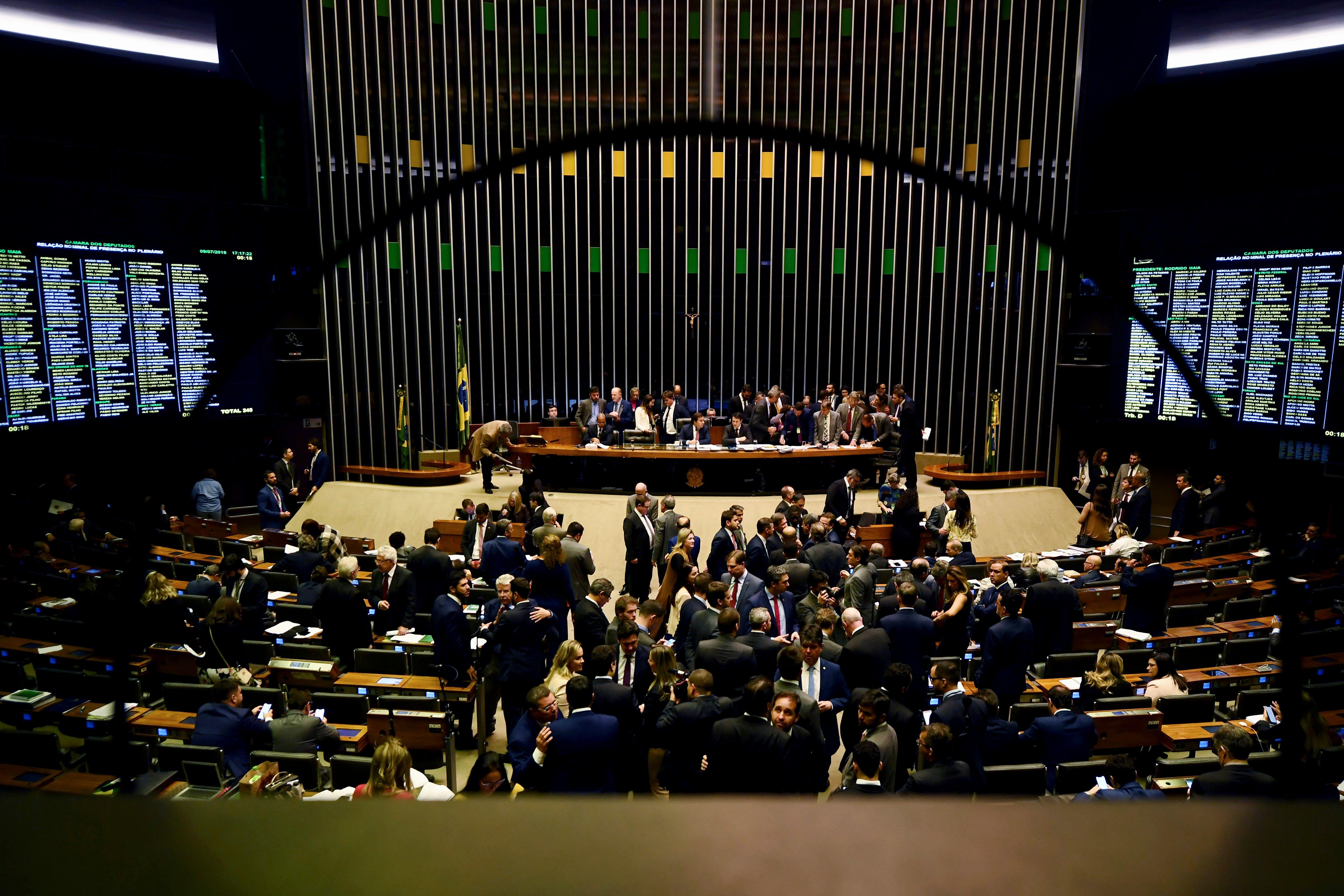 BRAZIL-POLITICS-PENSION-REFORM-VOTING