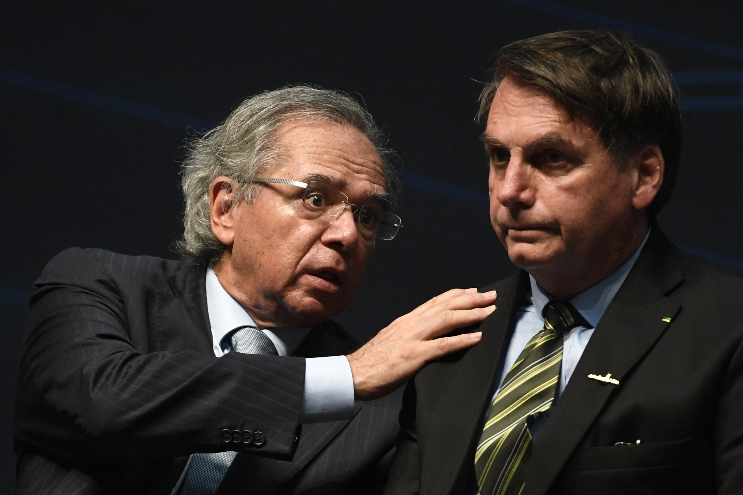 BRAZIL-SUBMARINE-ASSEMBLY-INAUGURATION-BOLSONARO-GUEDES