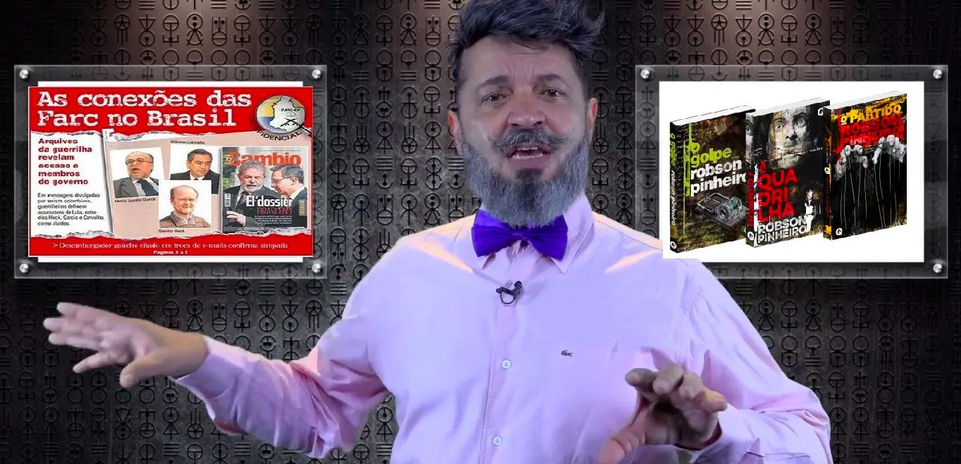 """O terapeuta e médium Robson Pinheiro se dirige em seus livros e palestras aos """"homens de bem""""."""