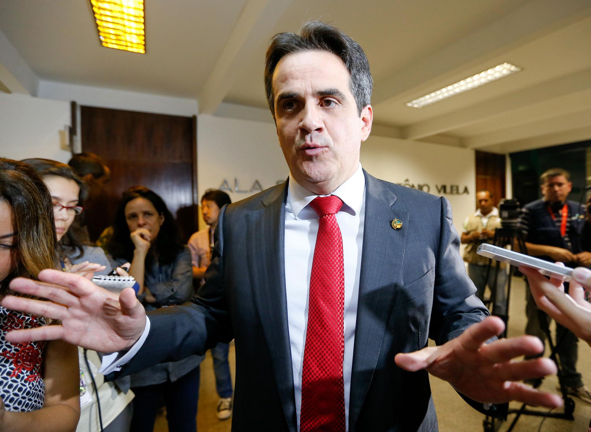 O senador Ciro Nogueira, presidente nacional do PP,